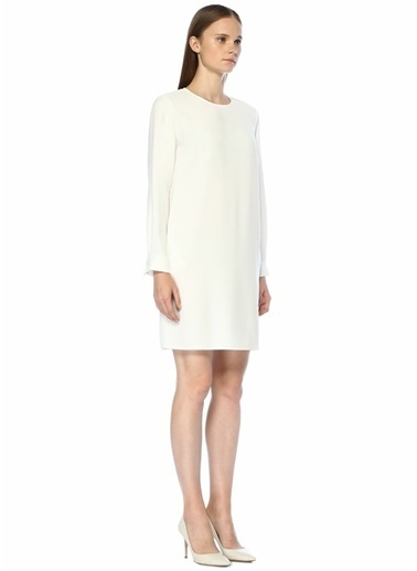 Beymen Elbise Beyaz